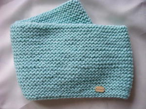 Ocean Top Knitted Baby Cowl