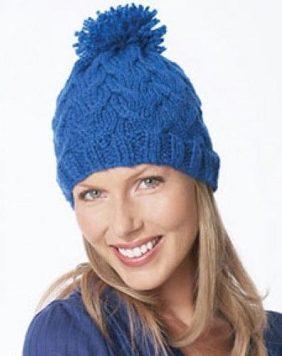 Easy Knitting Pattern For A Hat : 19 Free Hat Knitting Patterns FaveCrafts.com