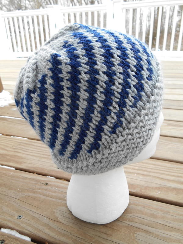 Helicoid Knit Hat