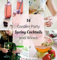 14 Garden Party Spring Cocktails and Wines
