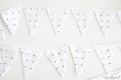 How to Sew a Triangle Garland