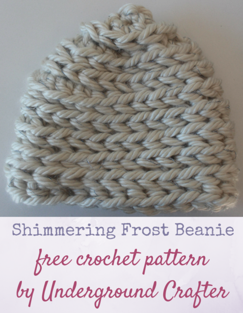 Shimmering Frost Beanie