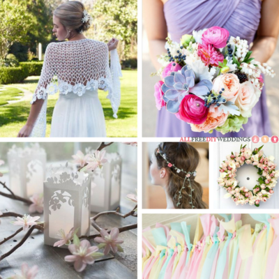 35 Pastel Wedding Crafts for Your DIY Spring Wedding