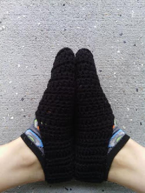 Men's Quick and Easy Slipper Socks
