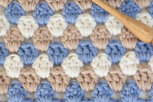 Crochet The Granny Stripe Stitch