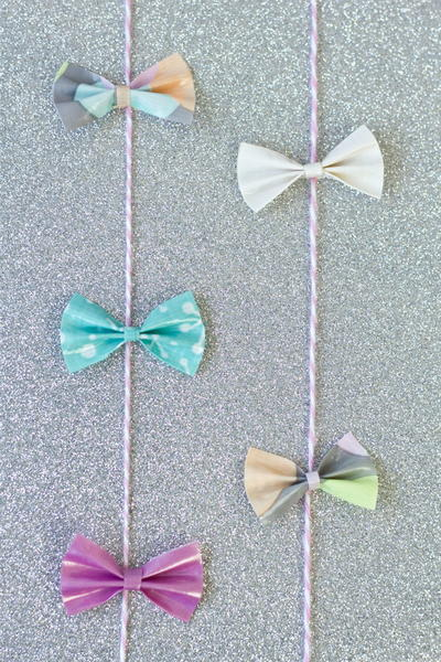 Duct Tape Bows Garland