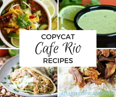 15 Cafe Rio Copycat Recipes