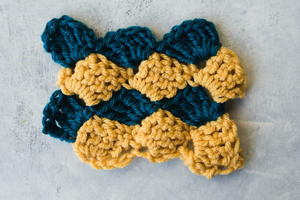 Vintage Crochet Shell Stitch