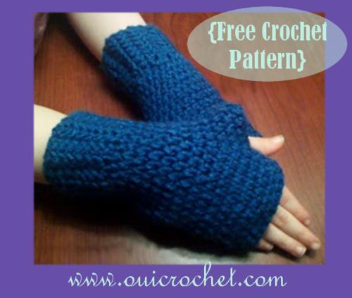 Fingerless Gloves For Kids Allfreecrochetcom