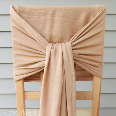 How to Decorate Chairs With Scarves