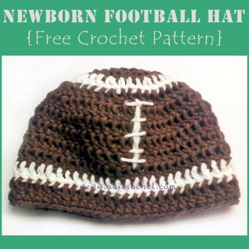 Newborn Football Hat  a7f0d0f50