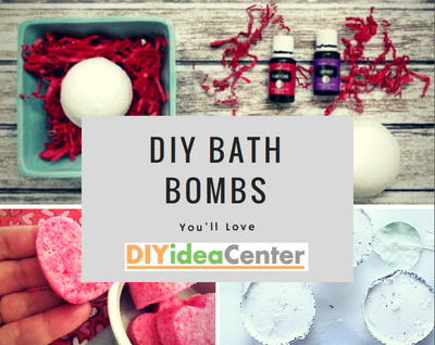 10 DIY Bath Bombs You Will Love