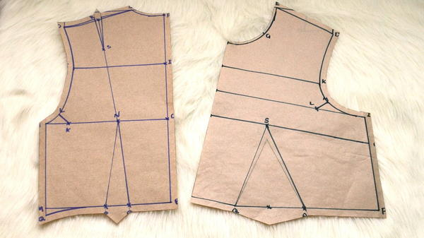 Easy Basic Bodice Block for Beginners