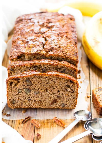 Paleo Banana Bread with Coconut Flour