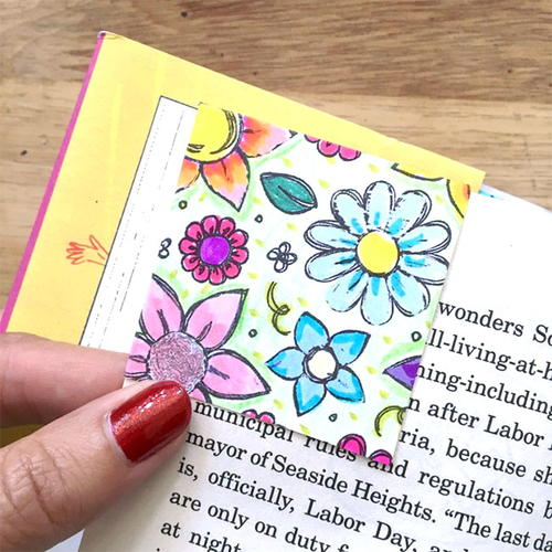 Coloring Page Printable Bookmark Templates