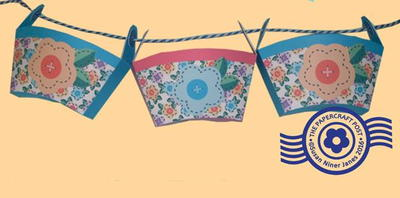 Free Printable Storage Box Bunting