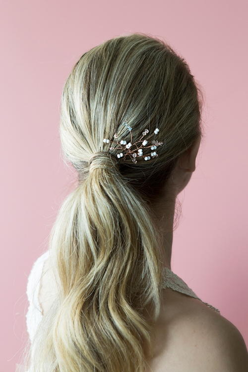 Twisted Bridal Hair Pin