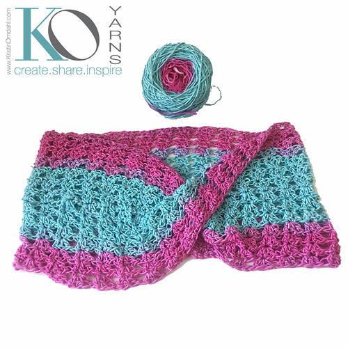 Be So Bold Crochet Mobius