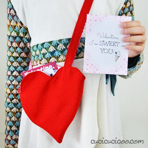 Reversible Valentine Bag Free Pattern