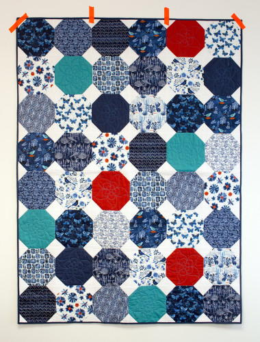 Mexican Tiles Quilt Pattern