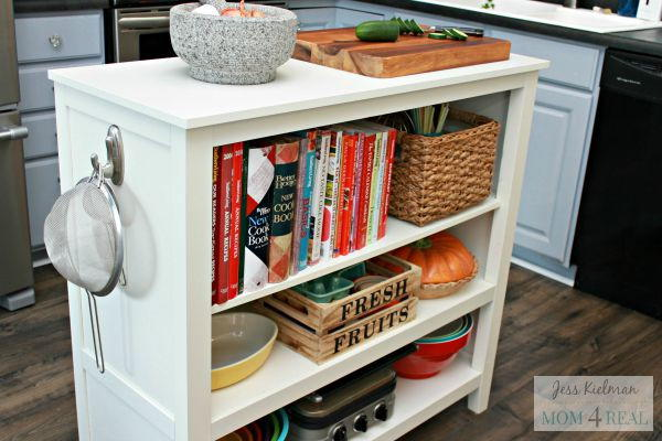 Sideboard Turned Kitchen Island DIY Hack