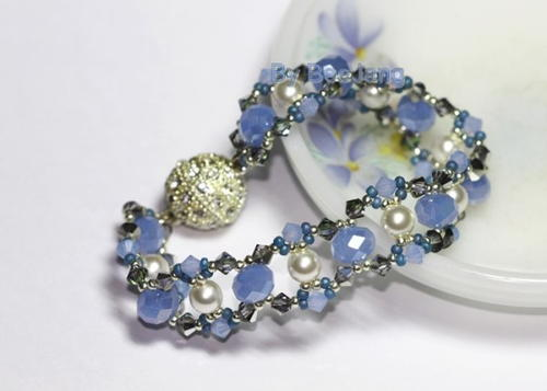 Sky Blue Tiny Treasure Bracelet