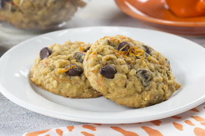 EDR Chocolate Chip Carrot Cookies
