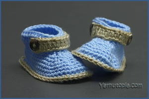 Little Gentleman Baby Booties