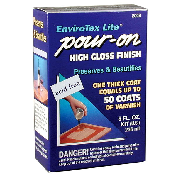EnviroTex Lite Pour-On High Gloss Finish Review