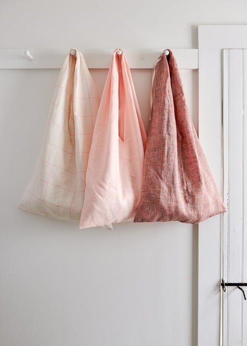 Simple Fold-Up Market Tote