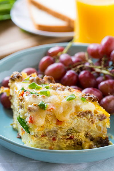 Zesty Slow Cooker Brunch Casserole