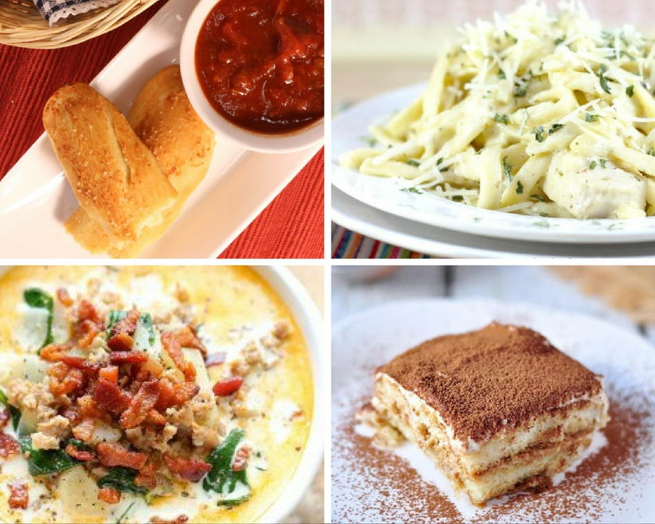 Attractive 13 Favorite Olive Garden Copycat Recipes
