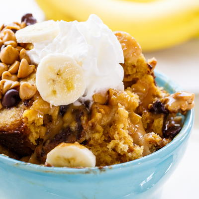 Slow Cooker Elvis Pudding Cake