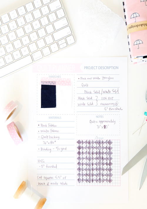 Free Sewing Planner Printable