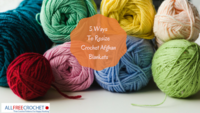 5 Ways To Resize Crochet Afghan Blankets