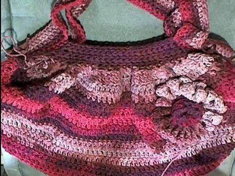 Pretty Pink Hobo Bag