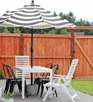 Affordable Patio Diy Umbrella Stand Diyideacenter Com