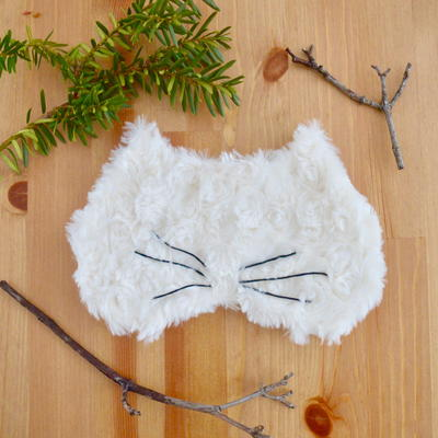 Kitty Cat Sleep Mask Pattern_1