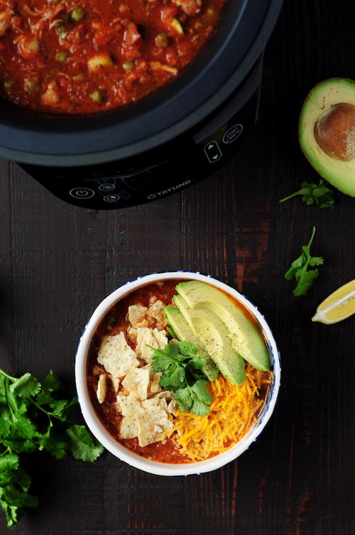 Fusion Cooker Chicken Tortilla Soup