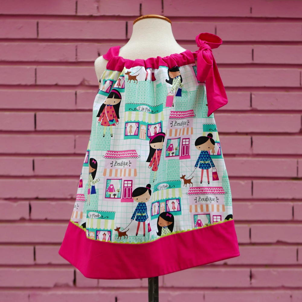 Girls Pillowcase Dress Pdf Pattern 1 6 Yrs