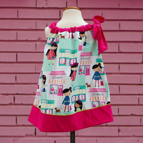 Girls Pillowcase Dress PDF Pattern 1 - 6 yrs_1