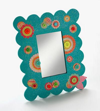 Dollar Store Diva DIY Mirror