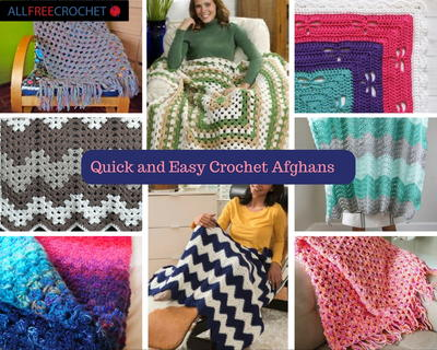 42 Quick and Easy Crochet Afghans  Bonus Video
