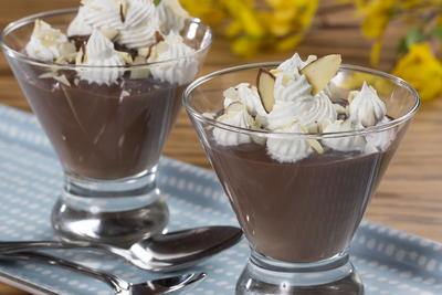 EDR Chocolate Almond Pudding