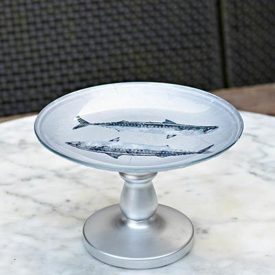 Plate Cake Stand DIY