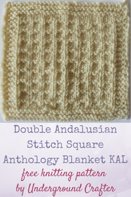 Double Andalusian Stitch Square