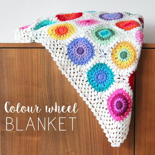Colour Wheel Blanket