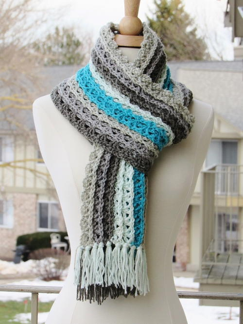 Ocean Waves Scarf_2