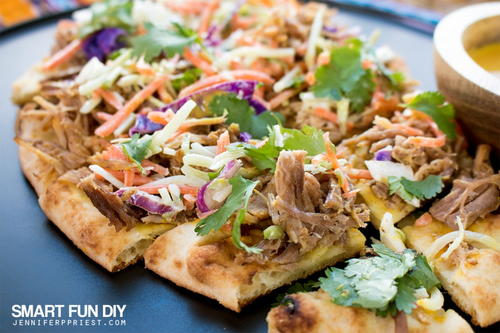 Pulled Pork Flatbread Recipe