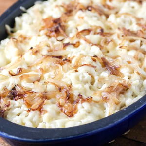 Cheese Spaetzle Recipe (Kaesespaetzle)